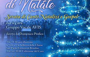 Armonie di Natale: domani canti di Natale nella Chiesa di San Paolo