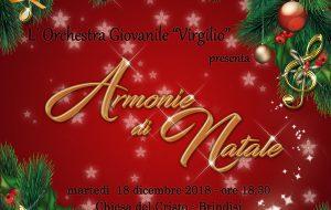 Martedì 18 il tradizionale Concerto di Natale dell'Orchestra Virgilio