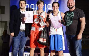 Cristina Mazzotta medaglia d'argenti ai campionato italiani di pugilato