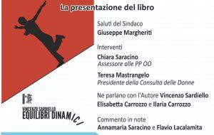 """Giovedì 20 a Erchie si presenta il libro """"Equilibri dinamici"""" di Vincenzo Sardiello"""