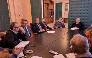 Sviluppo del territorio provinciale: il presidente Rossi incontra Confindustria, Sindacati confederali e CNA