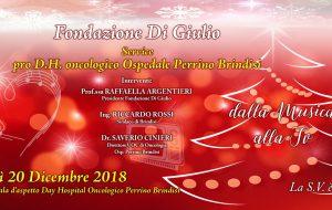 La Fondazione Di Giulio dona un televisore per la sala d'aspetto del Day Hospital Oncologico