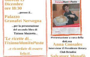 Le ricette di TizianaManiInPasta… a Palazzo Nervegna