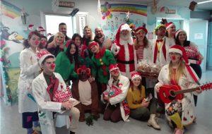 Il Coordinamento Cittadino della Lega consegna i doni natalizi ai piccoli degenti del Reparto Pediatria dell'Ospedale Perrino