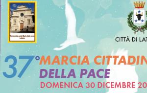 Domenica 30 a Latiano la 37^ Marcia della Pace