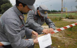 I Carabinieri Forestali sequestrano costruzioni abusive a Sant'Elia