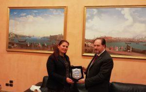 Il presidente Patroni Griffi ha incontrato il Console Generale Onorario della Turchia a Brindisi