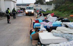 Disinfestazione e censimento in corso al dormitorio di Via Provinciale San Vito