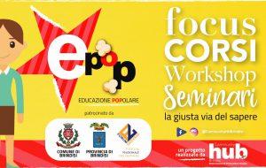 """Community HUB Brindisi: Un ricco programma di attività per il progetto """"EPop – Educazione Popolare"""""""
