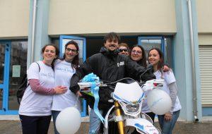 Realizzato il sogno di Giovanni, 16enne di Ostuni che ha sconfitto il linfoma Non Hodgkin: Make-A-Wish® Italia gli regala l'amata motocicletta