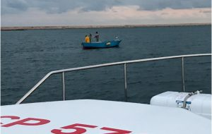 Operazione della Guardia Costiera contro la pesca illegale: sequestrati 250 metri di rete
