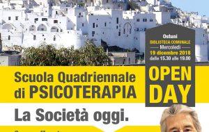 A Ostuni un Seminario gratuito  di Psicologia tenuto dal prof. Antonio Ferrara