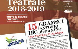 """0831 Teatro: il 15 Dicembre va in scena """"Gramsci Antonio detto Nino"""""""