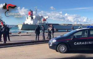 """Terminate le operazioni di controllo del Cargo """"Costanza"""""""