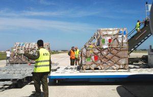 Nel 2018 sono partiti da Brindisi sette voli di aiuti umanitari per il Niger