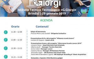 """Il progetto SNAM di Alternanza Scuola Lavoro per l'ITT """"Giorgi"""" di Brindisi"""