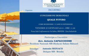 Confcommercio: Venerdì a Brindisi il presidente del Sindacato dei Balneari