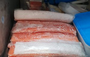 Prodotto ittico non tracciato nel ristorante orientale: sequestro e sanzione per €. 4.500