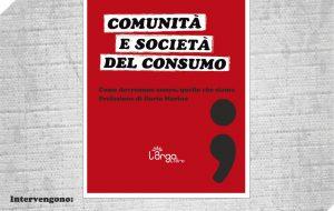 """Il Movimento +39 presenta il libro """"Comunità e società del consumo"""" di Gianfrancesco Caputo"""