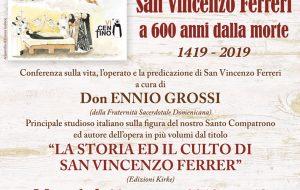 A San Vito conferenza sulla vita, l'operato e la predicazione di San Vincenzo Ferreri