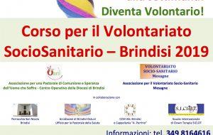 Continuano le iscrizioni per il Corso per il Volontariato Socio-Sanitario, in programma a Brindisi a fine febbraio 2019