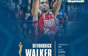 Happy Casa Brindisi: ufficiale l'ingaggio di Devondrick Walker