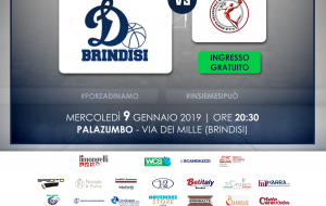 La Dinamo Brindisi prepara il big match contro la Rosito Basket Barletta