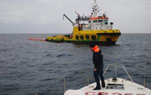 Mare inquinato a largo di Brindisi, interviene la Ievoli White. Riuscita esercitazione in alto mare