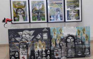 Ritrovati 6 quadri di un pittore palestinese asportati dalla mostra allestita nel palazzo comunale
