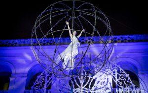 Rinviata a data da destinarsi la danza aerea di «Giardino italiano»
