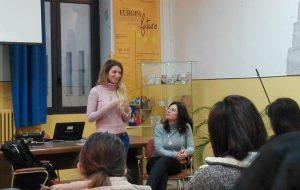 Genitorialità e prevenzione contro le sostanze stupefacenti: La scrittrice Giorgia Benusiglio ospite dell'IISS Marzolla-Leo-Simone-Durano