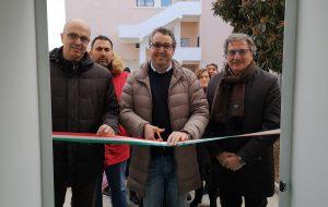 """Il sindaco Lanzilotti inaugura il nuovo refettorio della mensa scolastica della scuola """"Nicola Brandi"""" di Carovigno"""