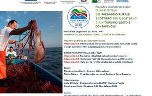 Il Gal Alto Salento presenta a Carovigno i finanziamenti per la pesca