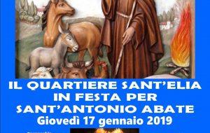 A Sant'Elia torna la focara in onore di Sant'Antonio abate
