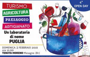 Domenica 3 a Tenuta Moreno il quarto Open Day di Puglia Expo
