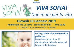 """Il Lions Club di Brindisi organizza  """"Viva Sofia!"""", corso di primo soccorso pediatrico"""