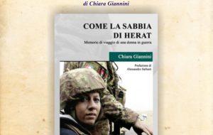 """Il Rotary Club Brindisi Valesio presenta il libro """"Come la sabbia di Herat"""" di Chiara Giannini"""
