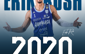 New Basket Brindisi: esteso il contratto con Erik Rush fino a giugno 2020