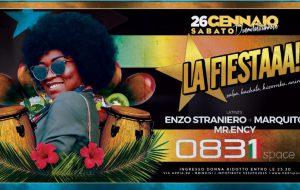 """Stasera si torna a ballare allo 0831 Space di Brindisi con """"LaFiestaaa"""""""