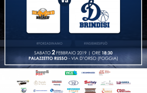 La Dinamo Brindisi prepara la trasferta di Foggia