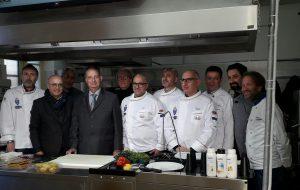 Un laboratorio dimostrativo multimediale di cucina all'Alberghiero di Brindisi
