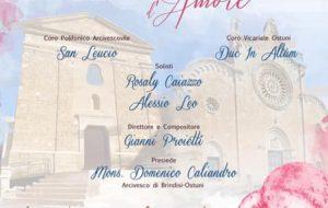 """Giornata Mondiale della Vita Consacrata: il 2 Febbraio Gianni Proietti a Brindisi a dirigere l'Oratorio Sacro """"Ecclesiae Sponsae Imago – Cantico D'amore"""""""