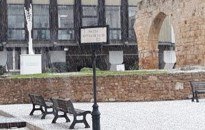 Spruzzatina di neve a Brindisi: diramata l'allerta meteo fino a domani sera