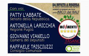 Da rifiuto a risorsa: il ciclo virtuoso dei rifiuti: se ne parla venerdì 18 in un convegno organizzato da M5 Fasano