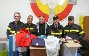 L'Associazione Nazionale Vigili del Fuoco di Brindisi aiuta la Caritas