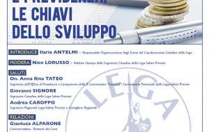 Fisco e previdenza, le chiavi dello sviluppo: Sabato 2 a Brindisi convegno della Lega