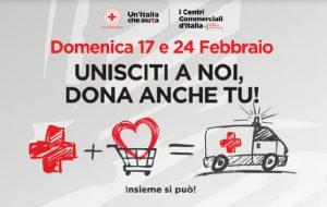 """La Croce Rossa presenta le attività presso i centri commercali """"Le Colonne"""" e """"Brinpark"""""""
