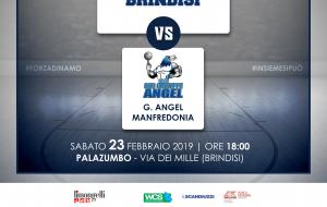 Domani Dinamo Brindisi-Angel Manfredonia