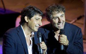 """Emilio Solfrizzi e Antonio Stornaiolo in """"Tutto il mondo è un palcoscenico"""""""