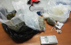 Il cane dei Carabinieri fiuta oltre 300 grammi di droga: in manette 27enne di Mesagne